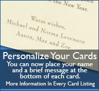 Personalize Your Cards